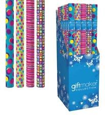 Giftmaker Collection 3m Everyday Gift Wrapping Paper Roll Birthday Celebration