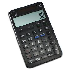 mts fn-X88 OFFICE Taschenrechner XL Tisch edel 12-stellig exklusiv Büro schwarz
