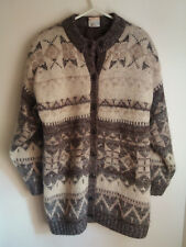 Vintage Sixth Sense C&A Wool/Mohair Knitted Cardigan Size S 80's  Hippy Boho
