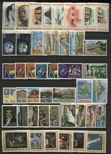 Mauritius Collection Commemorative Sets Unmounted Mint
