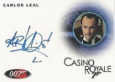 James Bond 50th Anniversary - A192 Carlos Leal Autograph Card