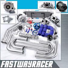 T04E T3 T3/T4 Turbo Kit Top Mount Manifold 350HP Fits 240SX S13 S14 KA24 KA24DE