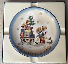 "Schmidt 1980 Christmas plate ""Parade into Toyland"" Berta Hummel"