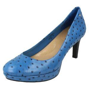 Ladies Rockport Tribunale Slip On Leather Scarpe SK62325