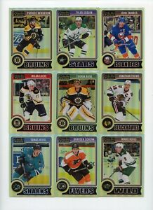 Lot Of (66) 2014-15 O-Pee-Chee Platinum Rainbow Parallels w/ Rookies KCC204