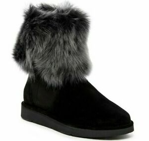 UGG Australia Lora Genuine Sheepskin Lined Boot Made in Italy Size 10