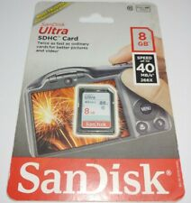 SanDisk 8GB Class 10 Ultra SDHC Card