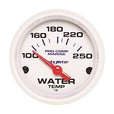 AutoMeter 200762 Marine Electric Water Temperature Gauge