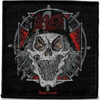 Official Licensed Merch Woven Sew-on PATCH Metal Rock SLAYER Slaytanic Wehrmacht