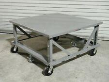 "Little Giant Mobile Ergonomic Pallet Stand 48"" x 48"" Platform 24"" - 34"" Height"