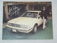 Walter Payton NFL Chicago Bears - Buick Promo Autogramm - US-Prospekt Brochure