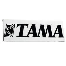 TAMA TLS100BK Logo Adesivo per grancassa Pelle in Nero