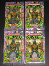 TEENAGE MUTANT NINJA TURTLES RETRO 8 INCH FIGURE SET 25TH ANNIVERSARY PLAYMATES