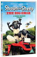 Shaun the Sheep: The Big Chase DVD (2011) cert U ***NEW*** Fast and FREE P & P