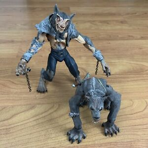 Stan Winston Creatures NECA Wulv and Lycon Figures Loose -Blood Wolves