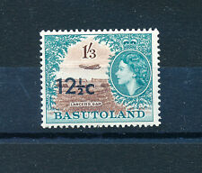 BASUTOLAND 1961 DEFINITIVES SG65a 12½c on 1s.3d. OVERPRINTED  MNH