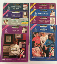 8 Tulip Colorpoint Paint Stitching Pattern Books