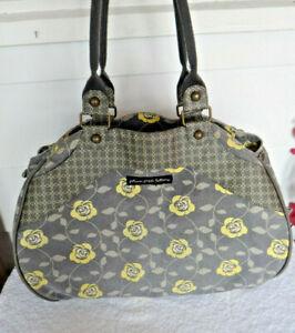 Petunia Pickle Bottom PPB Duffel Travel Diaper Bag Zip Close Inside Pockets