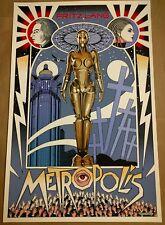 Metropolis Movie Poster Print Mondocon Art Mondo William stout fritz lang