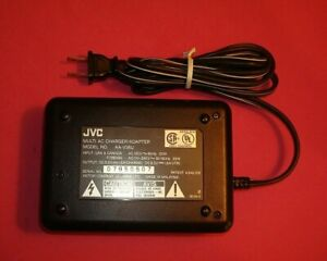 GENUINE OEM JVC AA-V35U  AC POWER ADAPTER  CAMCORDER BATTERY CHARGER  C1.3
