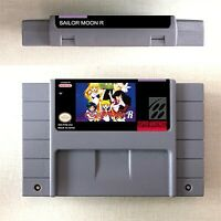 Pretty Soldier Sailor Moon R Game Card US Version For Nintendo SNES 16 Bit Eng