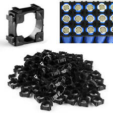 100 X 18650 Battery Cell Holder Safety Spacer Radiating Shell Storage Bracket