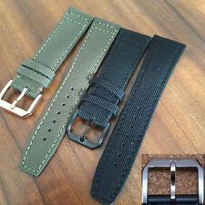 20mm 21mm 22mm kevlar leather watch band include clasp for IWC PILOT PORTUGUESE