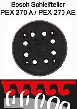 Ersatz Klett-Schleifteller 125 mm für Bosch Exzenterschleifer PEX 270 A/AE