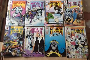 THE SECOND LIFE DOCTOR MIRAGE #1-18 VALIANT COMIC SET COMPLETE 1993