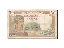 Billets, 50 Francs type Cérès #205477