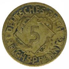 Deutsches Reich, 5 Rentenpfennig 1926 F, A24161