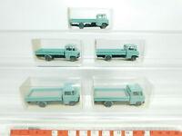 BK10-0,5# 5x Wiking H0/1:87 12 271 Pritschenwagen Mercedes/MB L 408, NEUW+OVP