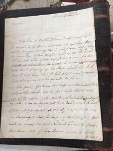 Handwritten LETTER-Doctor James Lloyd- Boston 1784