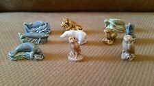 Red Rose Tea Wade Figurines Complete set of 10 Endangered Animals series 2002