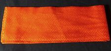 neue DATEERI(伊達衿) orange Farbe für KIMONO aus Japan