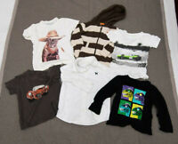 Lot of 6 Boys Size 3/3T Tops/Shirts, Crewcuts, Gap, Old Navy EUC