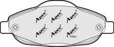 PAD1609 Genuine APEC PASTIGLIE FRENO ANTERIORE per PEUGEOT 308 CC