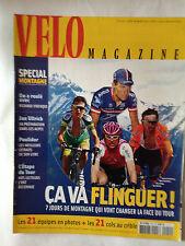 VELO MAGAZINE N°410 JUILL 2004 TOUR DE FRANCE - SPECIAL MONTAGNE