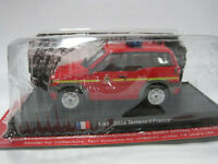 AMER COM 1/43 Scale 2004 Nissan terrano II FRANCE Fire Vehicle Diecast Model