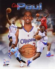 LA Los Angeles Clippers CHRIS PAUL Glossy 8x10 Photo Collage Print NBA Poster