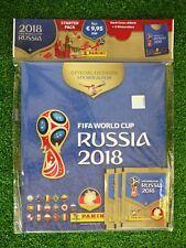 Panini WM 2018 Russia Hardcover Album inkl. 3 Stickertüten NEU & OVP