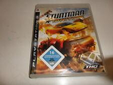 PlayStation 3 PS 3 Stuntman: encendido