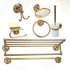 7Pcs Bathroom Shelf Soap Dish Toilet Holder&Tooth Brush Holder Bath Hardware Set