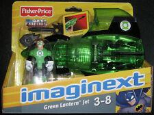 GREEN LANTERN Hal Jordan & Jet Fisher-Price DC Universe Super Friends Heroes NEW