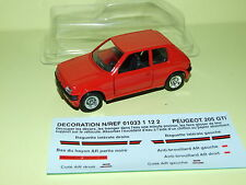 PEUGEOT 205 GTI 1.6 Rouge SOLIDO Neuf sous Coque