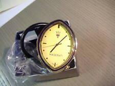 Ovale Uhr MASERATI Biturbo Ghibli 4porte Shamal NEU Original Borduhr Rarität
