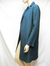 $1,750 PIAZZA SEMPIONE Trench Coat Ruched Jacket 12 46 Women Lady Gift NEW ITALY