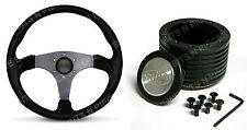"SAAS Sports Steering Wheel 14"" & Boss Kit Suits Holden Commodore VN,VP,VR,VS ADR"