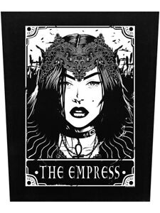 Deadly Tarot Back Patch The Empress Black 29.5x36cm