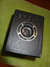 Vintage Coronet 020  Box Camera with Meniscus Lens - Made in England